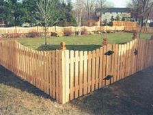 Wood Fence Pineville NC