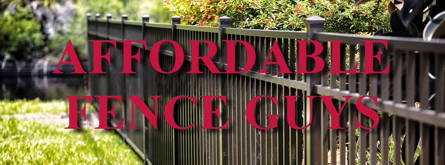 Aluminum Fence Installation Company Fort Mill SC