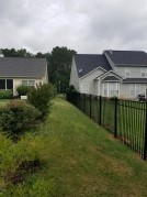 Aluminum Fence Installer