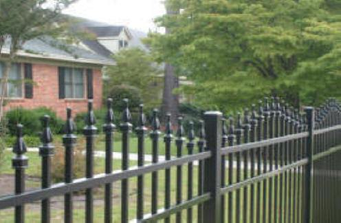 Castle Aluminum Fence Fort Mill SC