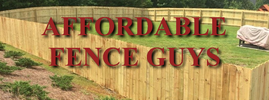 Affordable Fence Guys Fence Installation Company